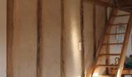 interior timber-frame construction